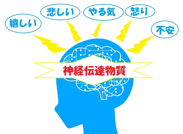 神経伝達物質と感情